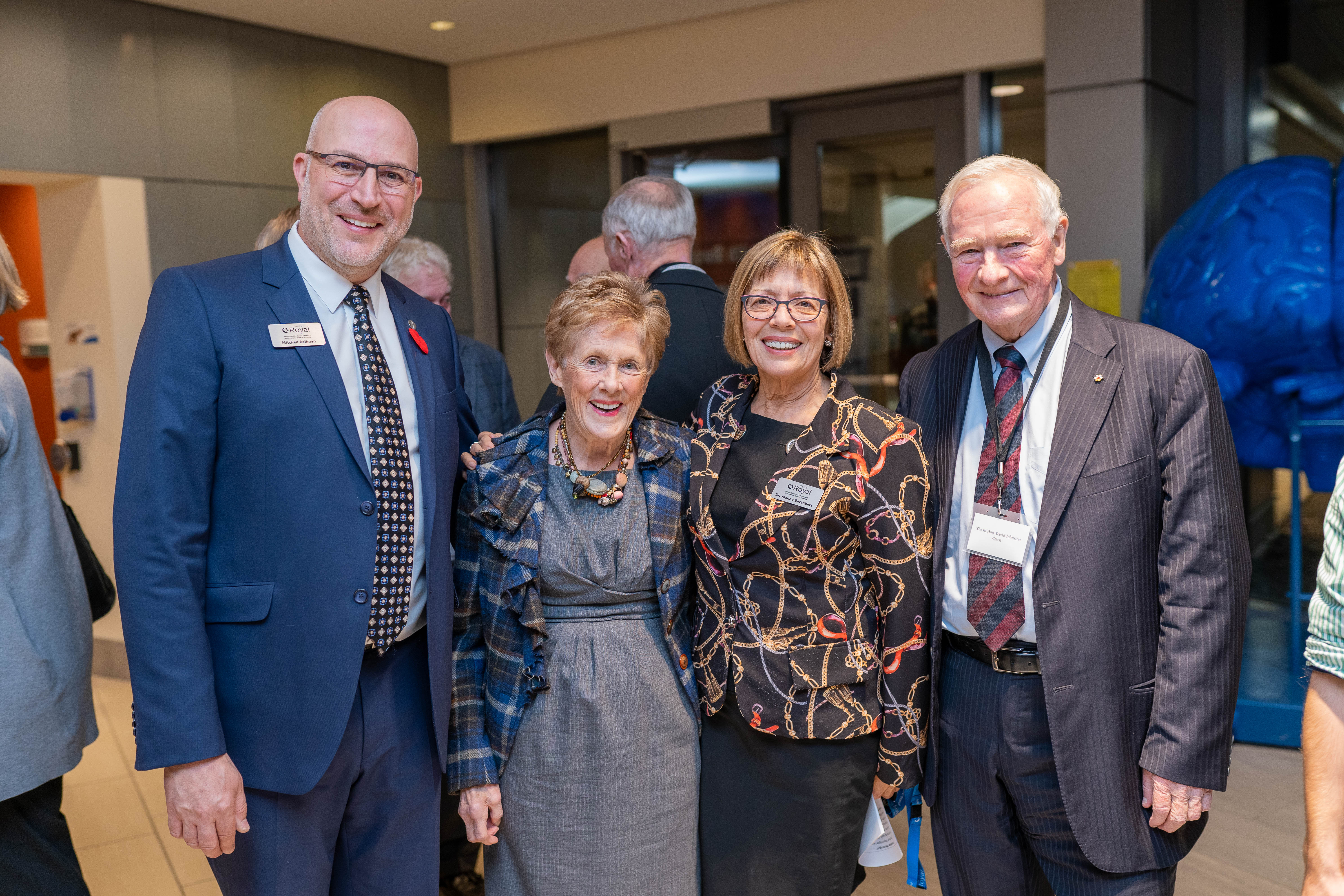 Mitchell Bellman, Sharon Johnston, Joanne Bezzubetz, David Johnston
