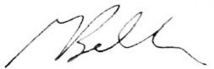 Mitchell Bellman Signature