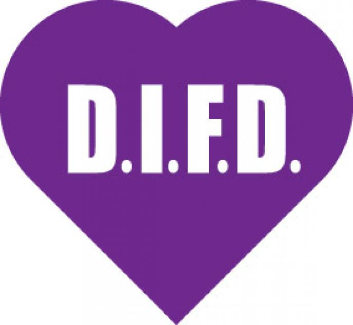 DIFD purple heart logo